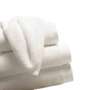Luxury Boutique Face Cloth (Set of 3), 750 GSM Combed Cotton, 33x33cm - White / Snowflake
