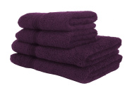 Pack of 6 Decotex Mirage Face Cloth, Grape