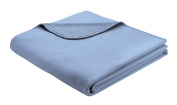 B@Home Biederlack 150 x 200 cm Grönland Blanket/ Throw, Blue