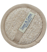 Natural Linen Sponge For Bath Shower Wash Spa