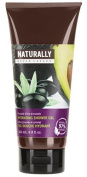 Upper Canada Soap And Candle Naturally Hydrating Shower Gel, Pressed Olive Avocado, 200ml by Upper Canada Soap & Candle Makers Corp.