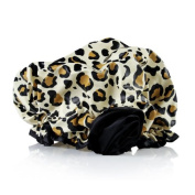 Bella Il Fiore Bath Diva Shower Cap, Classic Leopard, 90ml