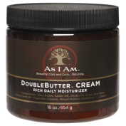 As I AM DOUBLEBUTTER CREAM Rich Daily Moisturiser 470ml