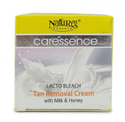 Nature's Essence Caressence Lacto Bleach Tan Removal Cream with Milk & Honey