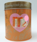 Sanctuary Spa Love the Little Things Gift Tin Body Wash, Lotion, Bath Soak, Body Scrub & Puff