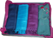 Luxury Gift Set 4 peice Pashminas and Scarf