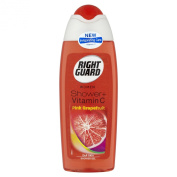 Right Guard Women Shower Plus Vitamin C Pink Grapefruit Shower Gel 250 ml - Pack of 6