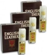 3 X English Leather by Dana Cologne Aftershave Spray for Men 15 ml Each