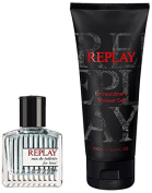 Replay Gift Box for Him contains EDT 30 ml and Shower Gel 100 ml