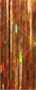 Hair Flairs Pro Hair Tinsel - 100 Strands, 90cm , Sparkle Copper Brown