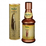 Nuzen Gold Herbal Hair Oil Promotes Hair Growth & Regrows Strong New Hair 100ml