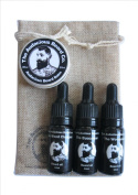 Beard Oils & Beard Balm Gift Set - The Audacious Beard Co