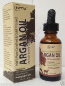 100 % Pure Certified & Cold Pressed Argan Oil All Skin And Hair Types 30ml