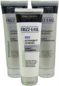 John Frieda Frizz Ease Straight Ahead 1x Shampoo & 2x Conditioner 250ml Each