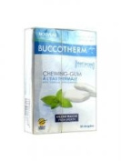Buccotherm Chewing-Gum with Thermal Springwater 20 Tablets