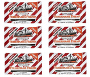 Fisherman's friend Cherry menthol lozenges-PACK of 6 [Personal Care]