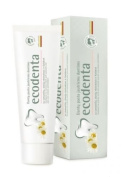 Ecological for sensitive teeth toothpaste ECODENTA (97% natural) with camomile, clove extract and Kalident