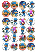 24 x Pocoyo (#2) Cupcake Cake Toppers