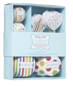 Sweetly Does It Spots and Stripes Patterned Cupcake Kit