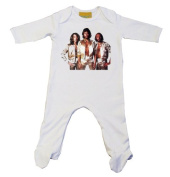 Bee Gees Baby Grow White