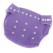 Viskey Baby Kids Adjustable Soft Cloth Covers Nappies Nappies, Purple