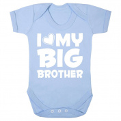 """'I Love My Big Brother"""" cute babygrow (0-3 months)"""
