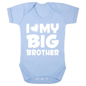 "'I Love My Big Brother"" cute babygrow (0-3 months)"