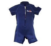 Two Bare Feet Classic Baby Wetsuit - Neoprene Swimsuit Ages 0 - 48 months (S