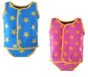 baby toddler girl boy swimming neoprene wrap wetsuit swimsuit swimwear 0-6 6-12 12-24 months
