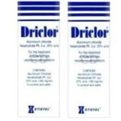 Driclor Under Arm Antiperspirant Roll On - 75ml x 2 bottles