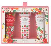Cath Kidston Flora Geranium Hand Trio Cream 45 ml
