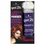 Schwarzkopf got2b POWDER'ful Volumising Styling Powder 10 g - Pack of 6