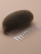 SMALL HAIR FOAM BUN BUMP COMB SLIDE HAIR STYLER SHAPER 6CM BEEHIVE