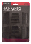 Secure Hold Hair Bobby Pin Kirby Wavy Grip Slides 250pk