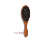 Donegal - Hair Care ECO Natural Wooden Hair Brushes Cushion Brush Boar Bristle