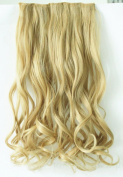 50cm 60cm One Piece 3/4 Full Head Clip in Hair Extensions Long Straight Curly Wavy Synthetic Hair Extensions black dark brown blonde auburn red Weight 110g