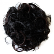 PRETTYSHOP BUN Up Do Hair Piece Hair Ribbon Ponytail Extensions Draw String Scrunchy Scrunchie Curly or Messy