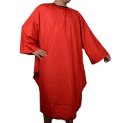 Red Pro Salon Hairdressing Hairdresser Hair Cutting Gown Barber Cape Cloth