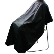 Jazooli Professional Hairdressing Salon Cutting Barbers Gown Cape Cover - Black