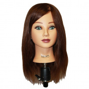 HAIRART 100% Human Hair Mia Deluxe18 Inch Mannequin 4835