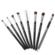 8PCS Eye Brushes Makeup Set Blend Angled Eyeliner Smoked Eyeshadow Brush