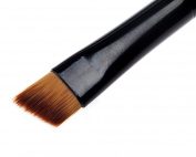 Wooden Makeup Artist Cosmetics Make Up Synthetic Angle Eyebrow Brush By Cheeky®