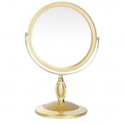 Danielle 17.5cm UV Finish Pedestal Gold x 7 Magnified