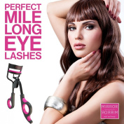 Eyelash Curler - by Mirror Mirror Beauty, The Best Eyelash Curler For Simple, Effective, Pinch & Pain Free Curling, Comes With Extra Refill Pad, & Travel Bag - Do You Want Longer More Dramatic Eyelashes. Quite Simply The Best Way To Enhance The Effect ..