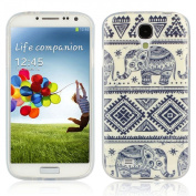 Ukamshop(TM)Blue Elephant Rubber Soft TPU Case Cover For for Samsung Galaxy S4 i9500
