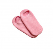 Surker 1 Pair Unisex SPA Gel Moisturising Pink Soft And Smooth Socks Set (Pink) PCPA00063B