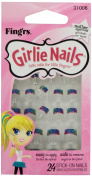 Little Fing'rs Self Stick Girlie Nails Stars