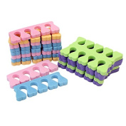20x Soft Sponge Finger Toe Separator Tools for Salon Nail Art Manicure Pedicure