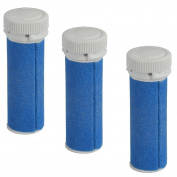 iVog Pedi-Luv 200 Coarse Replacement Rollers - 3 Pack