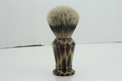 Haryali London Hand Assembled Imitation Horn Handle (Silver Tip Badger Hair Shaving Brush) Sophist Collection & Design By Haryali London.